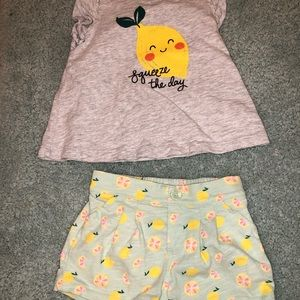 Old Navy Matching Sets - Old Navy summer matching outfit 12-18 months